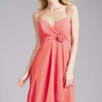Hi Lo Chiffon Dress by Allure Bridesmaids