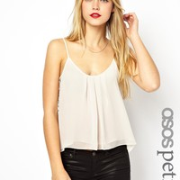 ASOS PETITE Cami with Lace Panels
