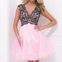 Soft Tulle Dress by Tony Bowls Shorts