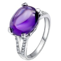 Purple dream AA zircon ring LWR12RI