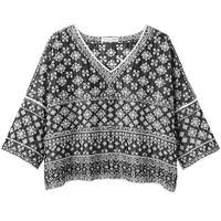Étoile Isabel Marant Bela Embroidered Top | La Garçonne