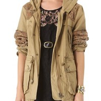 Tapestry Pieced Parka