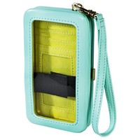 Solid Phone Case Wallet - Mint Green