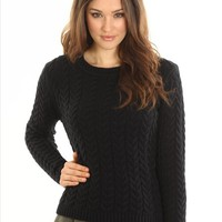 brielle cable knit pullover