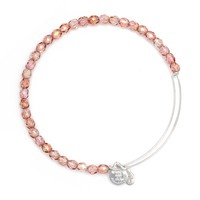 Blush Rock Candy Beaded Bangle