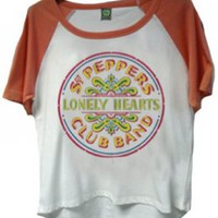 LADIES SGT. PEPPER RAGLAN TEE [5966] - $40.00 : Beatles Gifts, The Fest for Beatles Fans
