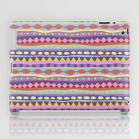 Stripey-Coolio Colors iPad Case by Groovity