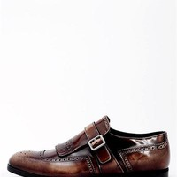 Prada Spazzolato Fume Dress Shoe - Made In Italy