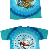 Alice In Wonderland - Alice & Caterpillar Tie-Dye T-Shirt