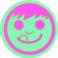 Neff Suckerface Green & Pink Sticker
