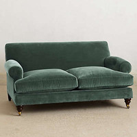 Willoughby Settee, Hickory