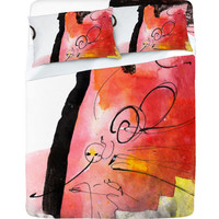 Ginette Fine Art Red Magic Sheet Set