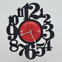 Vinyl Record Album Wall Clock (artist is Tony Bennett)