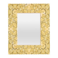 Lisa Argyropoulos Cassy Neutral Tones Rectangular Mirror