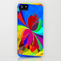 Re-Created ButterfliesXVIII iPhone & iPod Case by Robert S. Lee