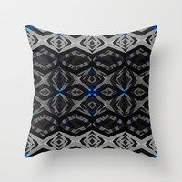 Mix #290 Throw Pillow by Ornaart