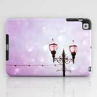 Lamplight of Cotton Candy Dreams iPad Case by Lisa Argyropoulos