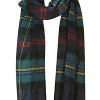 TRADITIONAL CHECK SCARF
