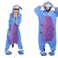 New Adult Animal Onesuit Pokemon Donkey Eeyore Kigurumi Cosplay Costume Pajamas
