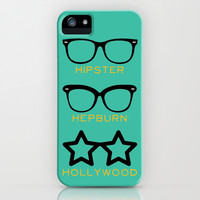 Shades iPhone & iPod Case by Rebecca Allen