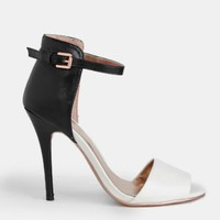 Foxy Lady Two-Toned Heels