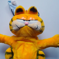 Vintage Garfield Pajama Pal Stuffed Animal 1981