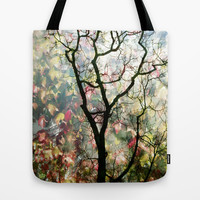 Passing Through, While looking for you Tote Bag by Suzanne Kurilla
