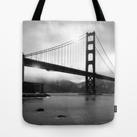 Golden Gate Tote Bag by Suzanne Kurilla
