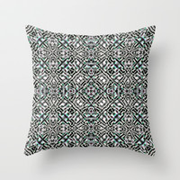 Mix #213 Throw Pillow by Ornaart