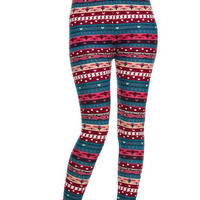 Aztec Gone Wild Leggings
