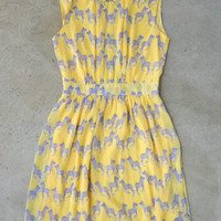 Feminine Fauna Dress [4189] - $33.60 : Vintage Inspired Clothing & Affordable Dresses, deloom | Modern. Vintage. Crafted.