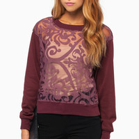 Bora Brocade Sweater $37