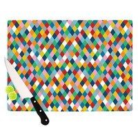 Kess InHouse Project M Harlequin Cutting Board, 11.5 by 8.25-Inch