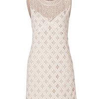 Anna Sui - Crochet Lace Dress in Cream
