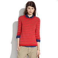 Heartstripe Sweater - pullovers - Women's SWEATERS - Madewell