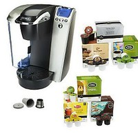 Keurig K75 Platinum Coffee Brewer w/ 102 K-Cups & My K-Cup — QVC.com