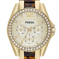 Fossil 'Riley' Multifunction Bracelet Watch, 38mm | Nordstrom