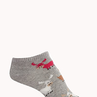 Cow Frenzy Ankle Socks