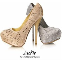 Jackie Heels by Sweetie's Shoe