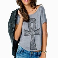 Tribal Cross Tee