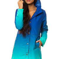 The Acid Rain Jacket in Turquoise