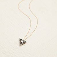 Diamond Motif Necklace