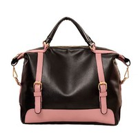 Elegant Classy Mixing Color Handbag Shoulder Bag