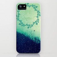 Let it Snow in the Mountains! iPhone & iPod Case by RDelean