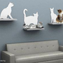 NEW! Cat Silhouette Cat Shelves from The Refined Feline|moderncat :: cat products, cat toys, cat furniture, and more…all with modern style