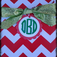 Set of 12 Monogram Tag Assortment (choice of colors)