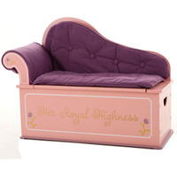 Always a Princess Fainting Couch with Storage
