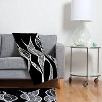 Lisa Argyropoulos Sway 2 Fleece Throw Blanket