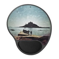 St. Michael's Mount Gel Mousepad