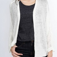 Cream Dolman Knit Sweater